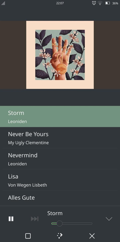 Screenshot of AudioTube